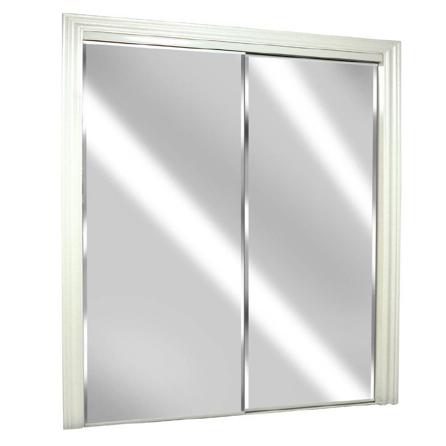 sliding glass mirrored closet doors photo - 4