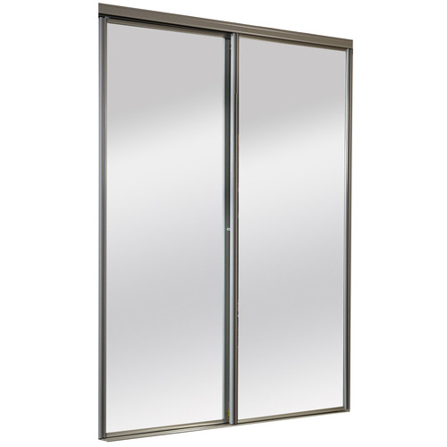 sliding glass mirrored closet doors photo - 7