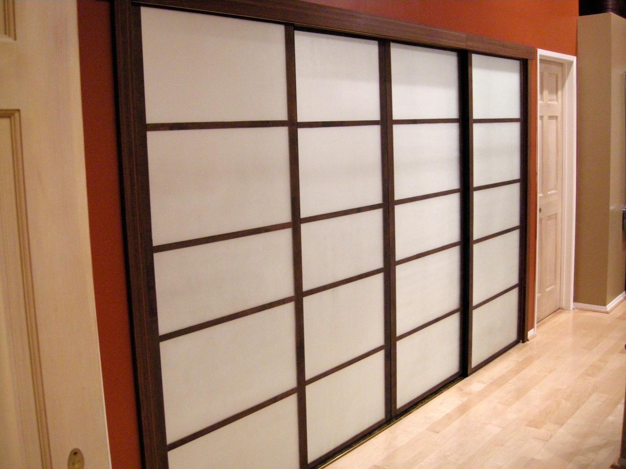 Sliding Glass Mirrored Closet Doors Photo   9