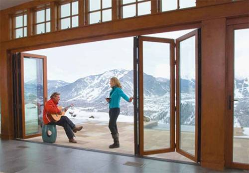 sliding glass pocket doors exterior photo - 1