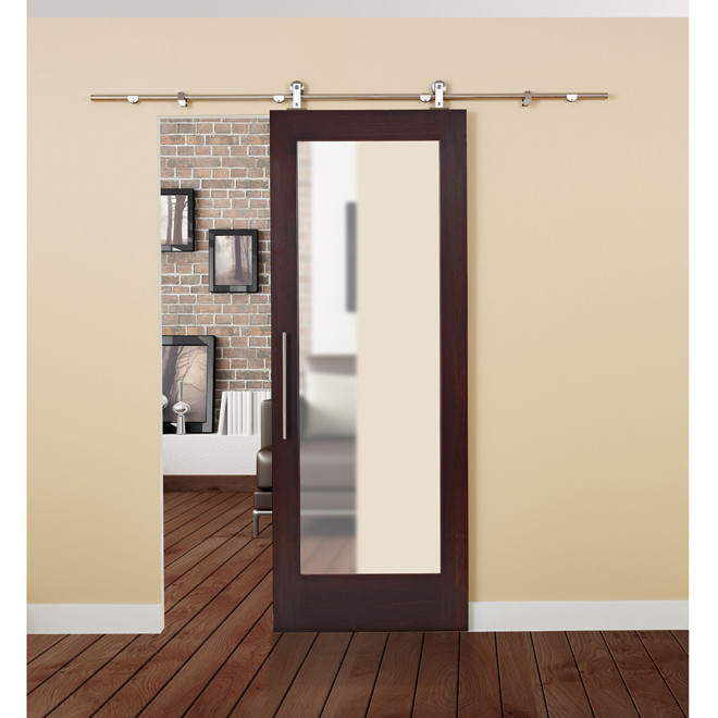 sliding loft doors interior photo - 10