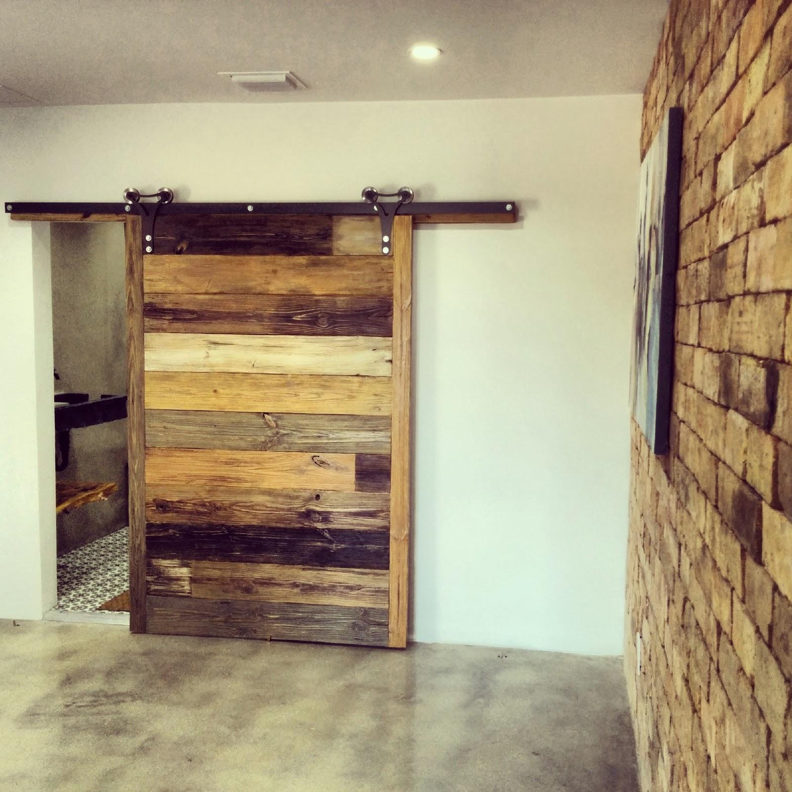 sliding loft doors interior photo - 2
