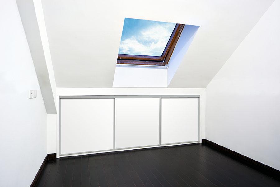 sliding loft doors interior photo - 4