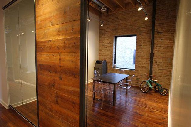 sliding loft doors interior photo - 8