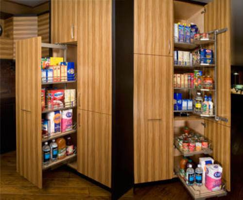 sliding pantry shelving systems photo - 1