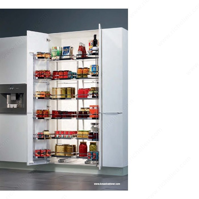 sliding pantry shelving systems photo - 10