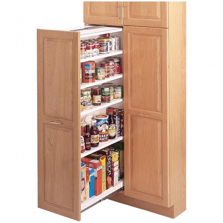 sliding pantry shelving systems photo - 3