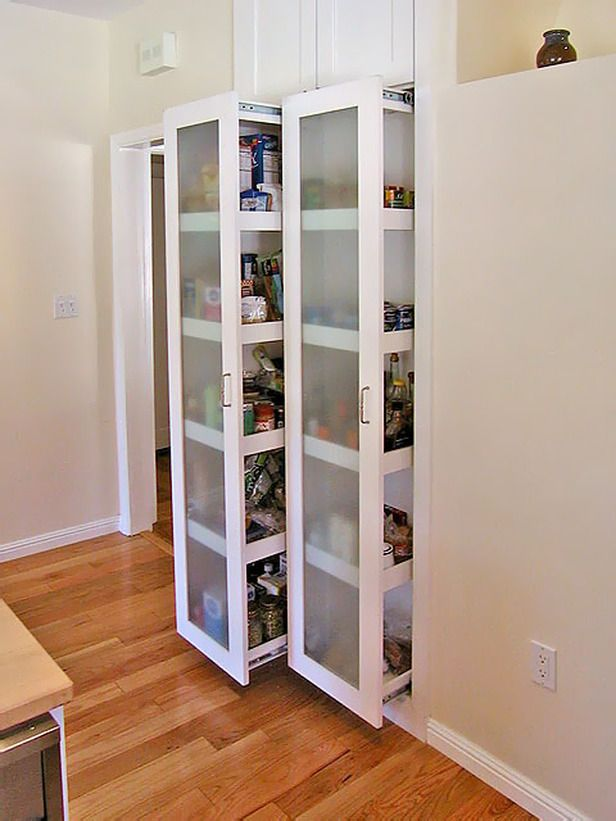 sliding pantry shelving systems photo - 4
