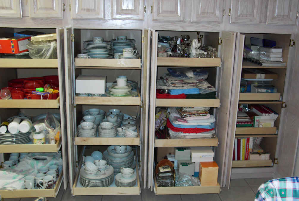 sliding pantry shelving systems photo - 6