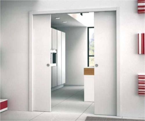 sliding pocket doors eclisse photo - 10