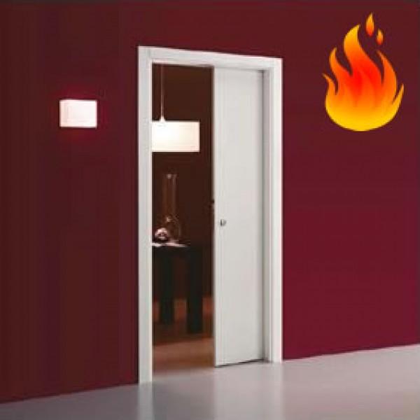 sliding pocket doors fire rated photo - 1