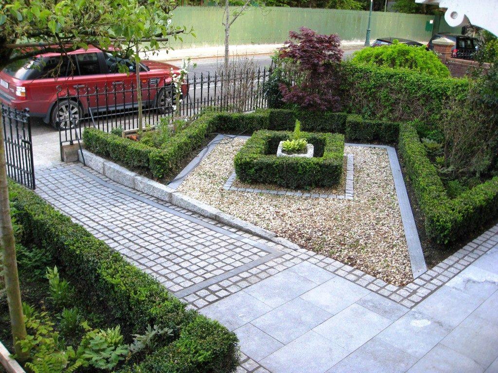 sloped front garden ideas photo - 4
