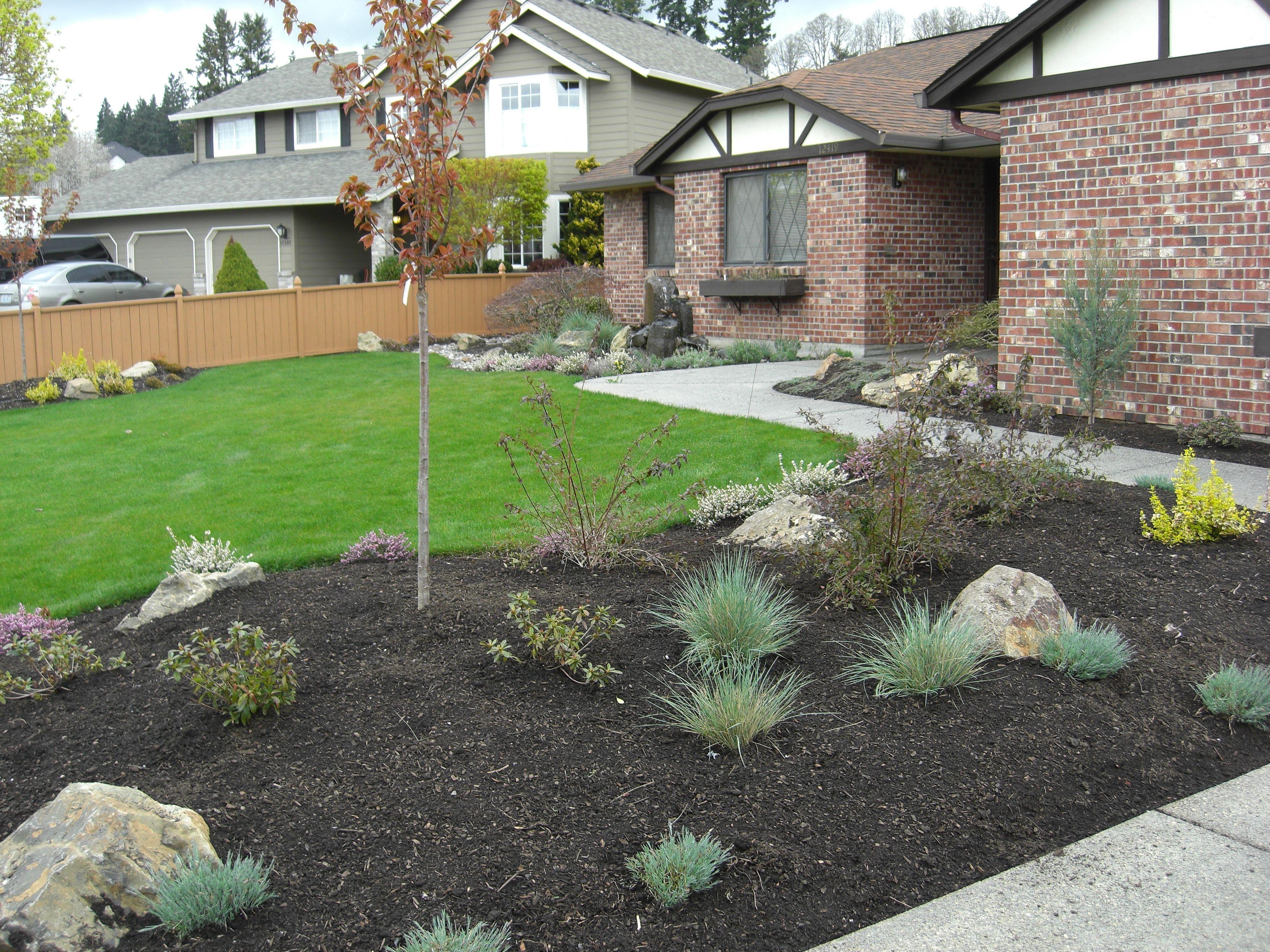 sloped front garden ideas photo - 6