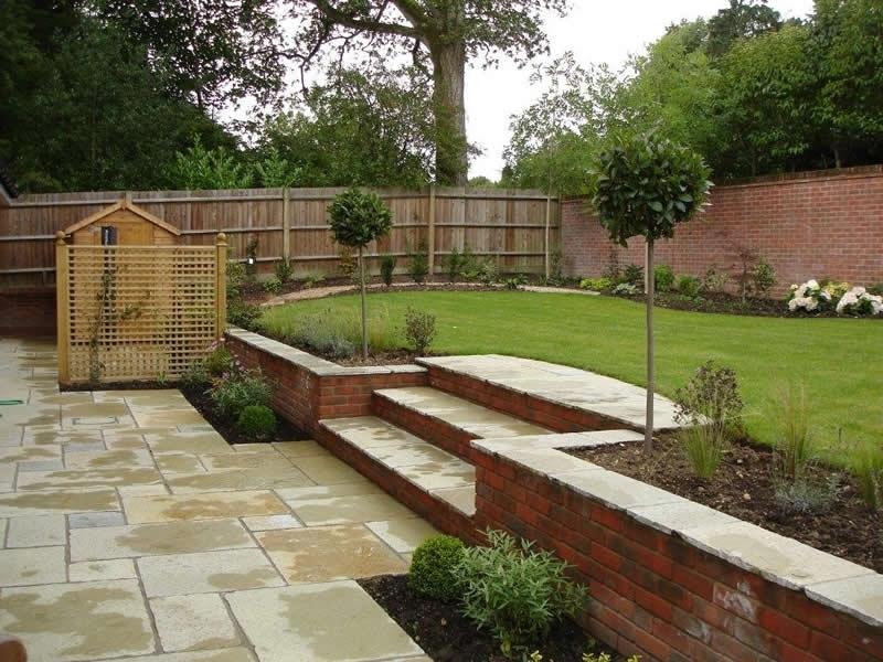 Sloped Garden Decking Ideas Hawk Haven