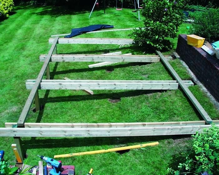 Sloped garden decking ideas | Hawk Haven