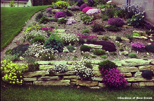 sloped rock garden ideas photo - 6