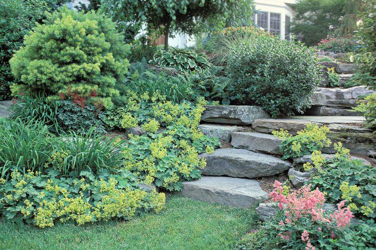 sloped rock garden ideas photo - 7