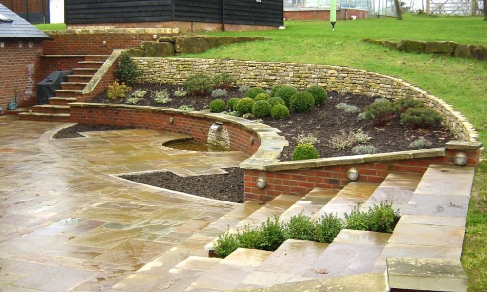Sloping garden design plans | Hawk Haven