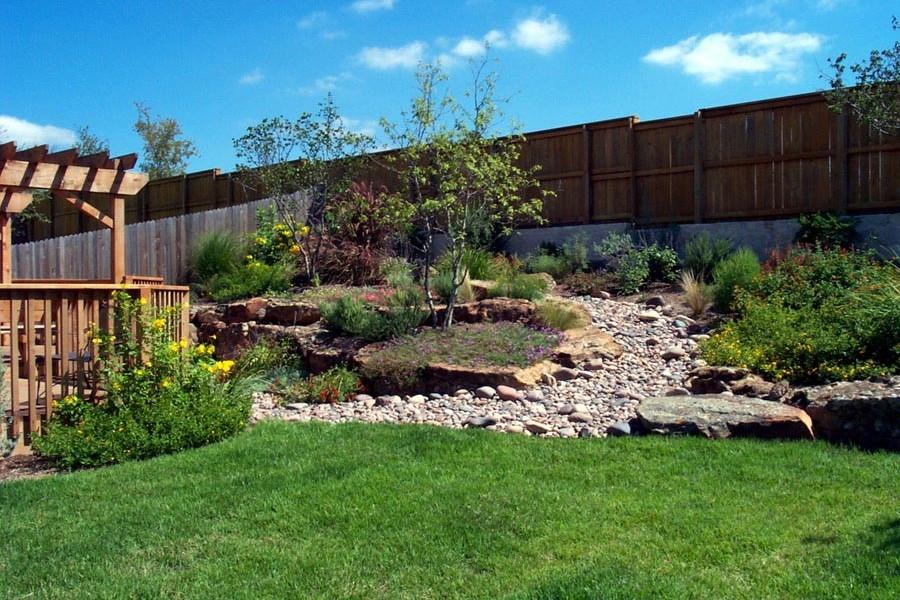 Landscaping Ideas for Sloped Backyard -Garden Design Ideas ...