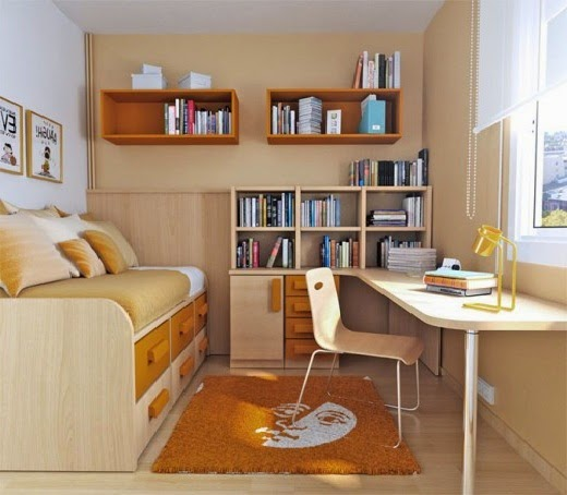 Small Bedroom Furniture Arrangement Ideas Photo   1