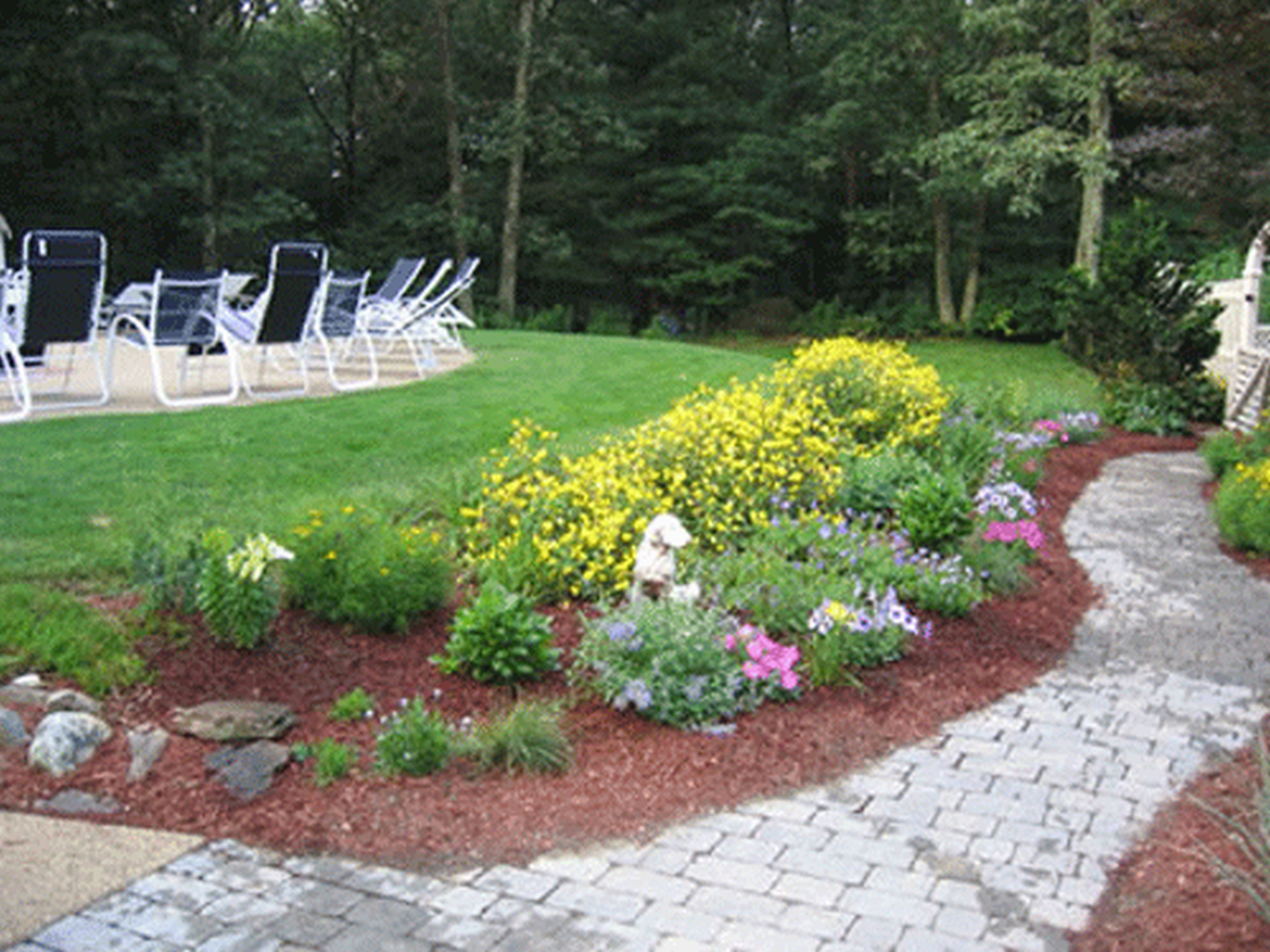 small easy garden designs photo - 8