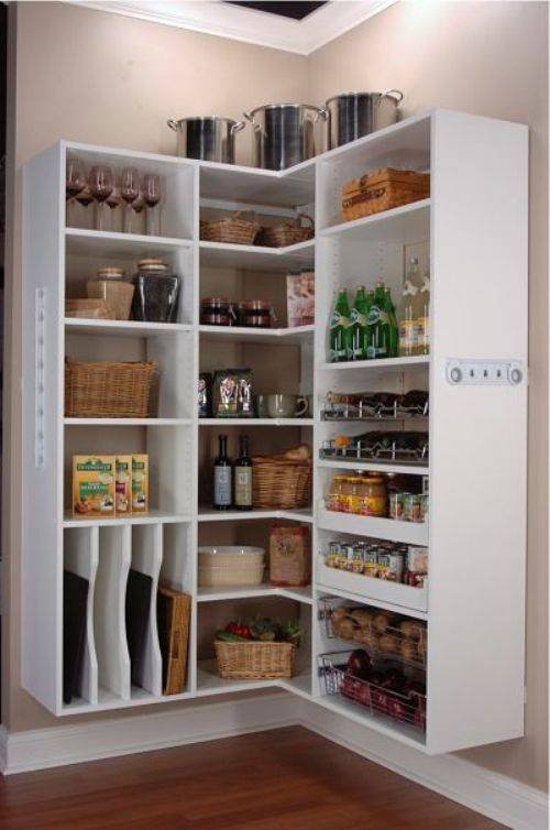 Small Kitchen Open Pantry Photo   5