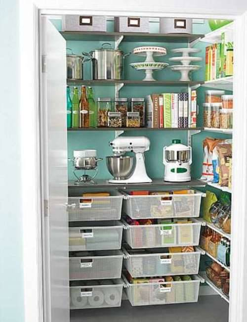 small pantry shelving systems photo - 1