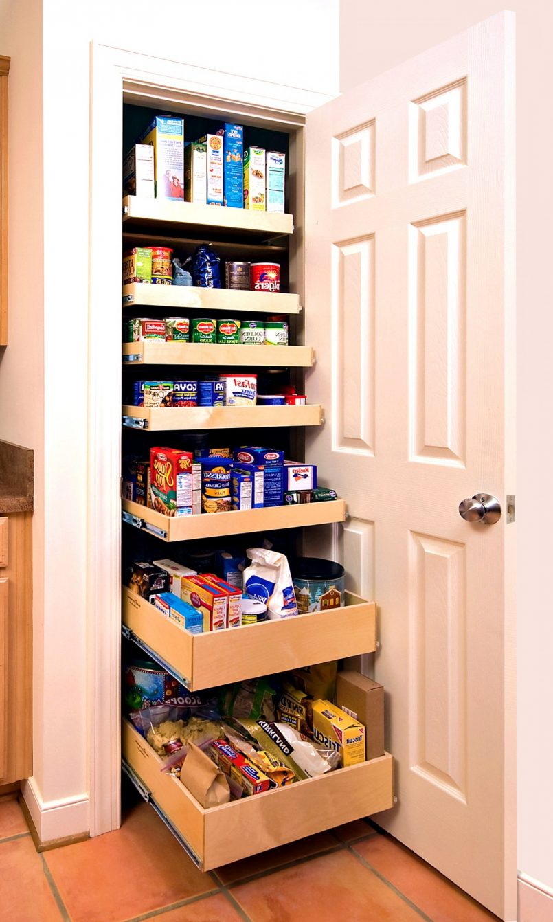 small pantry shelving systems photo - 7