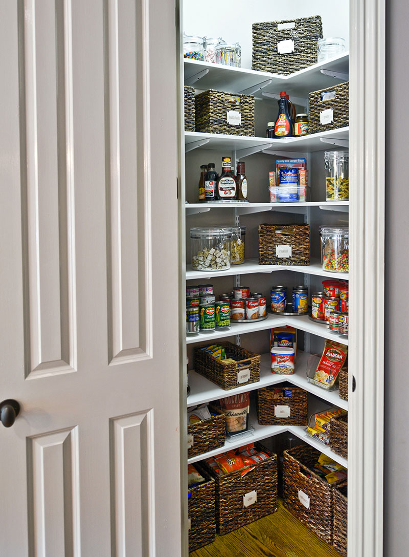 small pantry shelving systems photo - 9