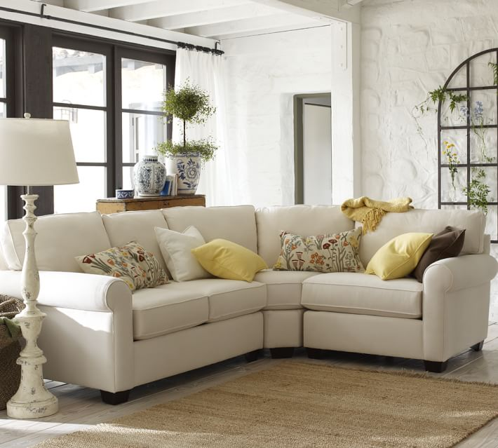 Small Sectional Sofa Pottery Barn Hawk Haven