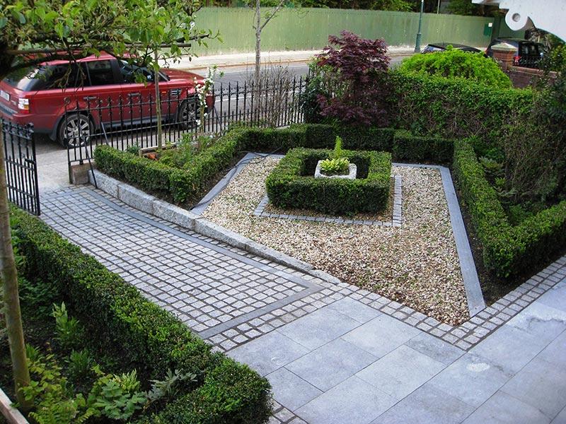 small sloped garden ideas photo - 1