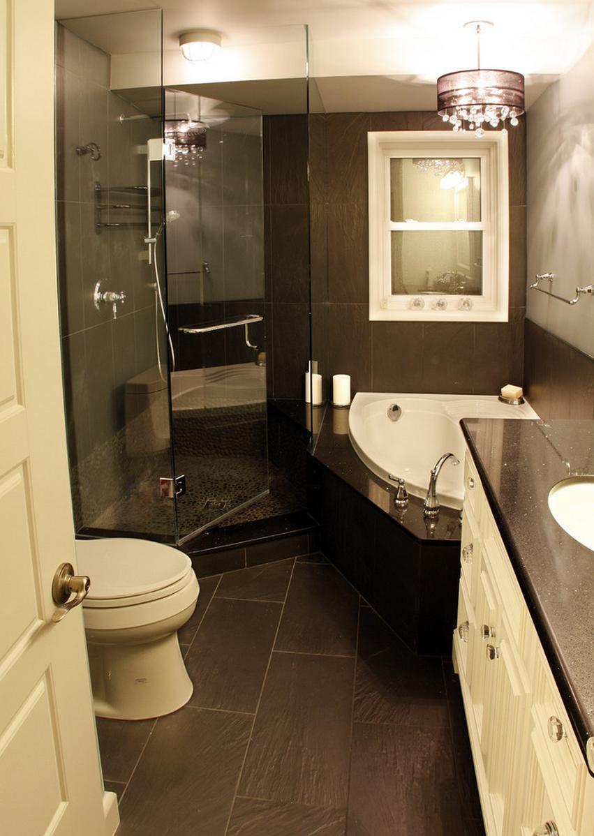 small spa bathroom design ideas photo - 5