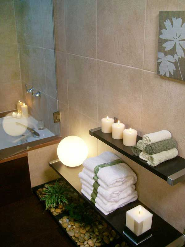 small spa bathroom design ideas photo - 8