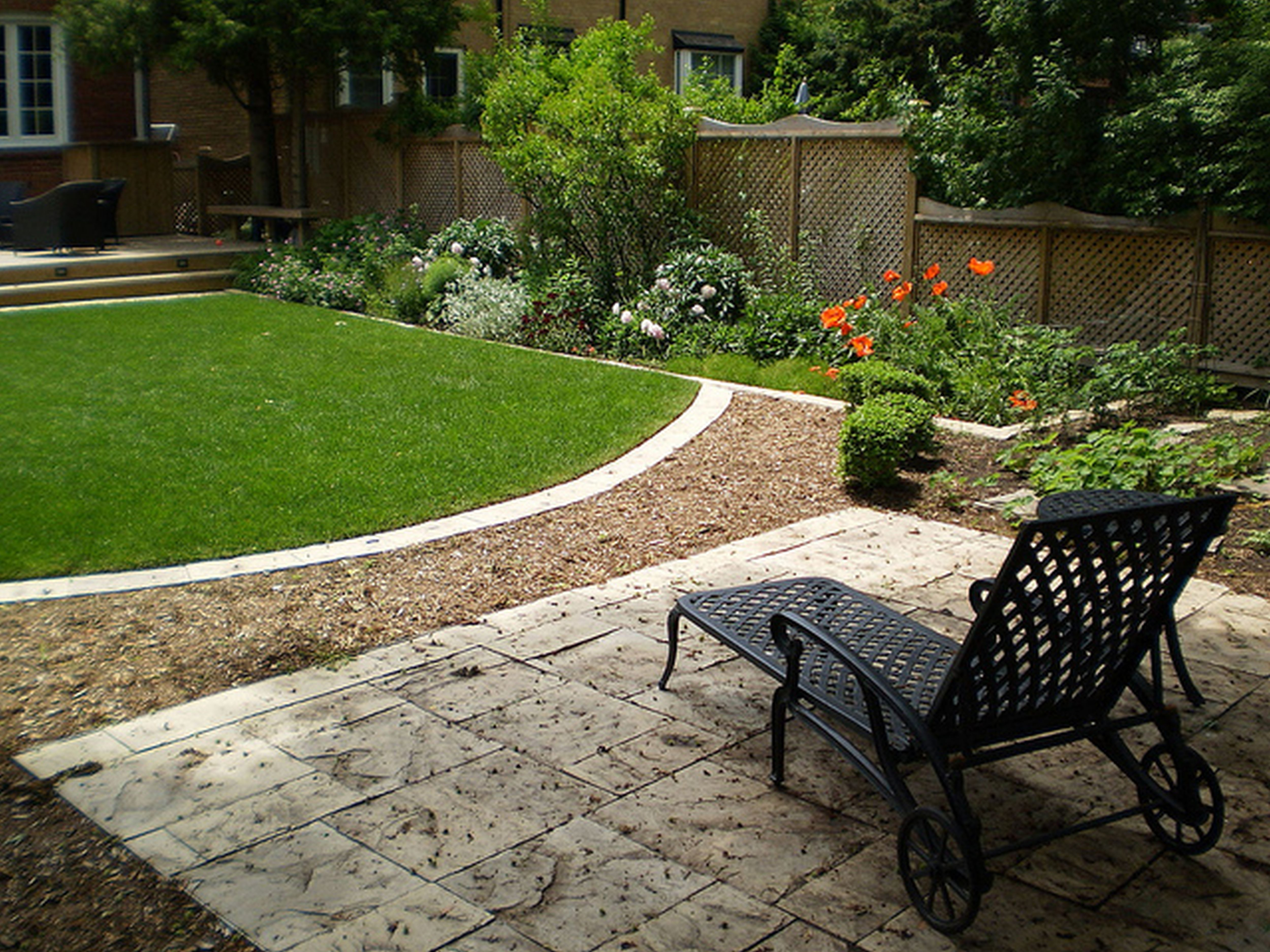 small yard garden design ideas photo - 10