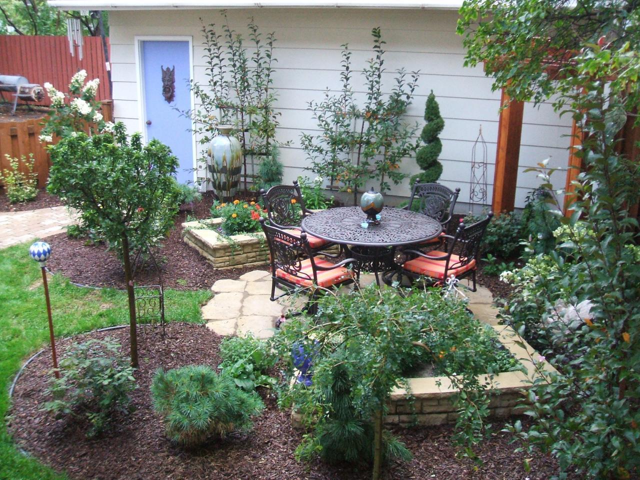 small yard garden design ideas photo - 3