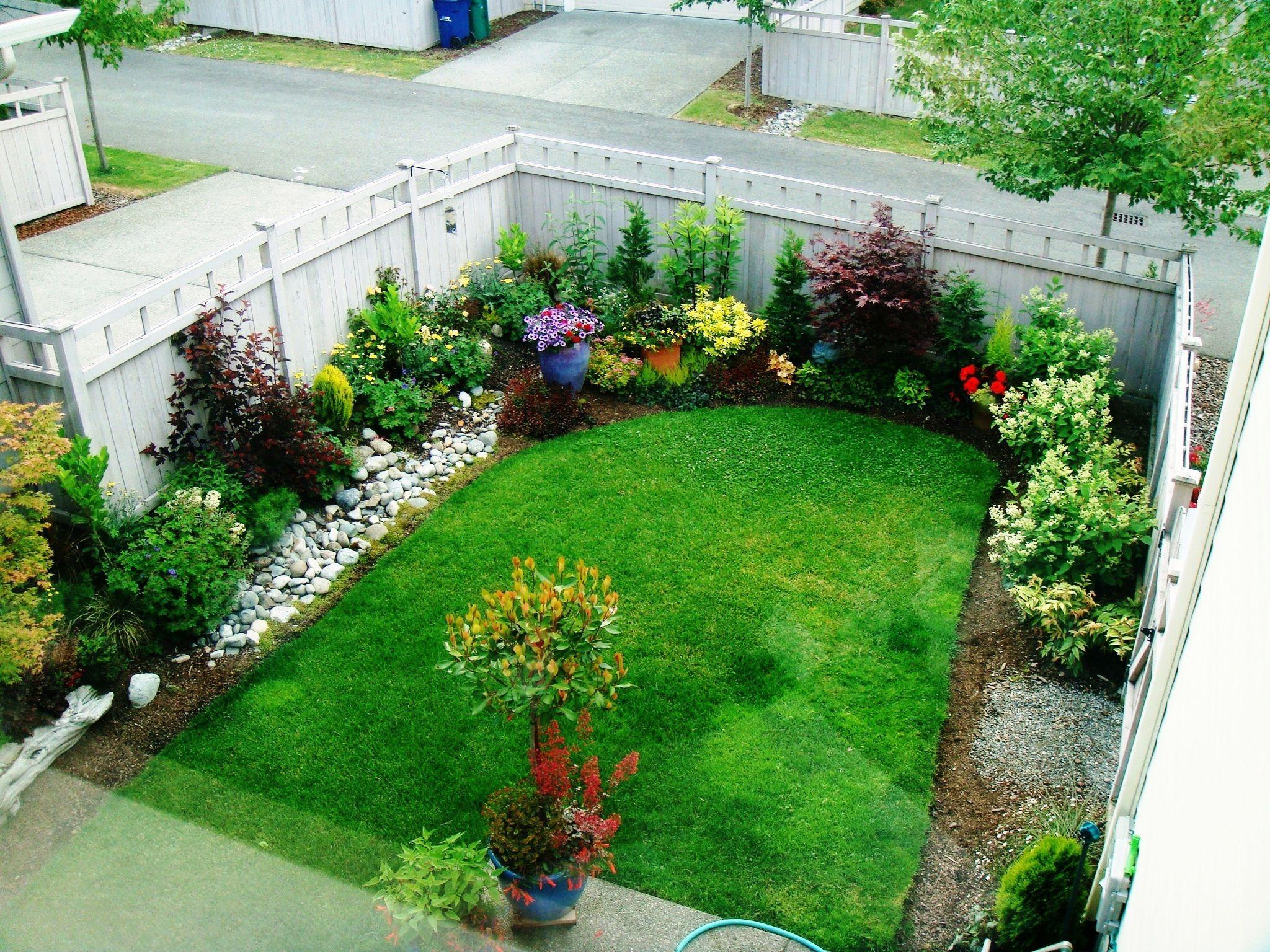 small yard garden design ideas photo - 8
