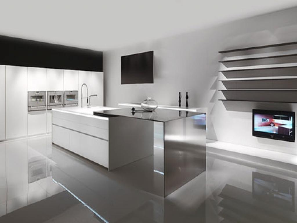 small zen kitchen design photo - 7