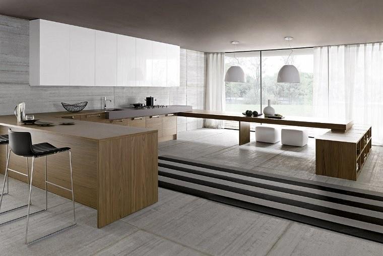 small zen kitchen design photo - 9