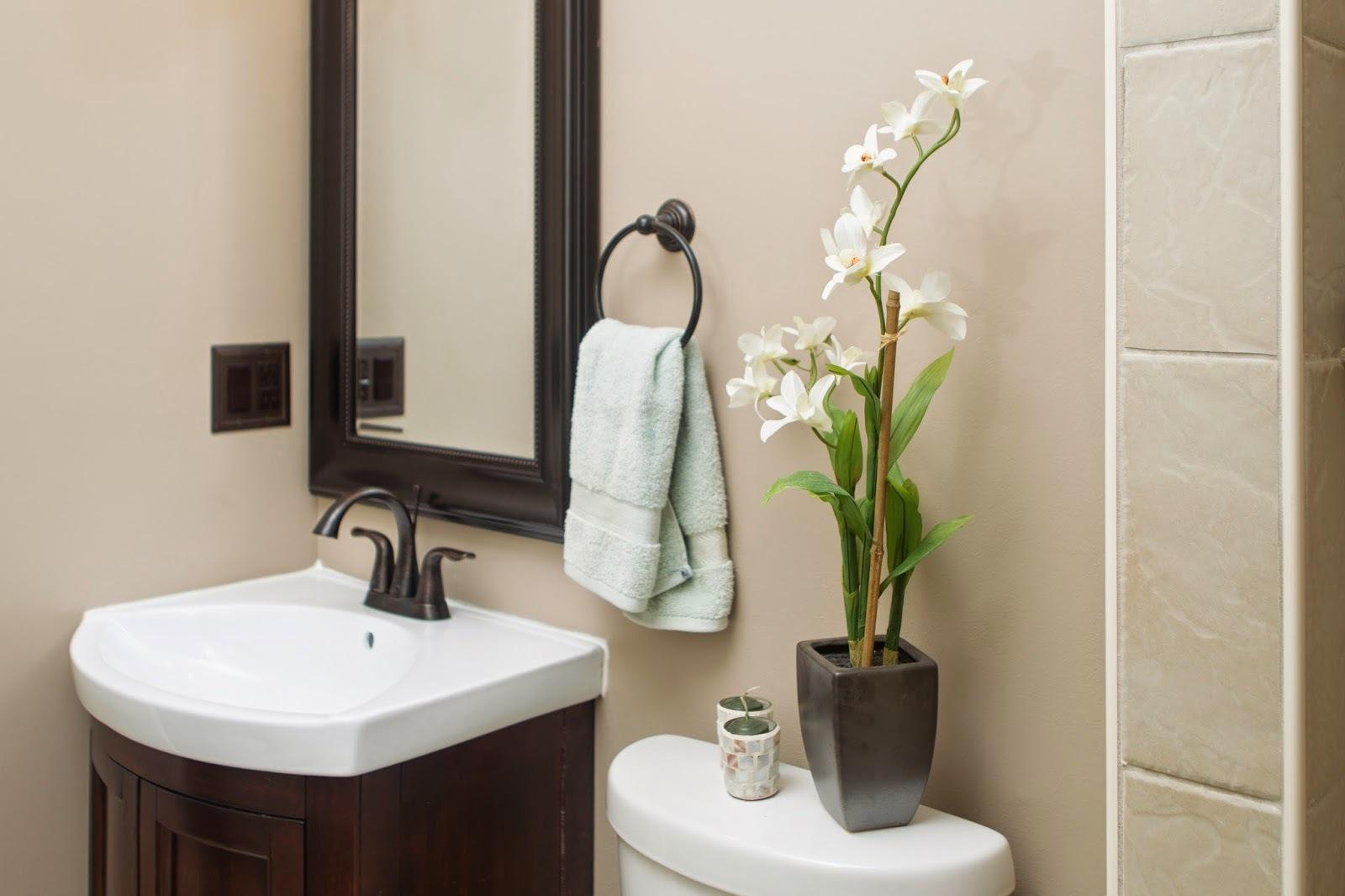 Spa bathroom accessory ideas | Hawk Haven