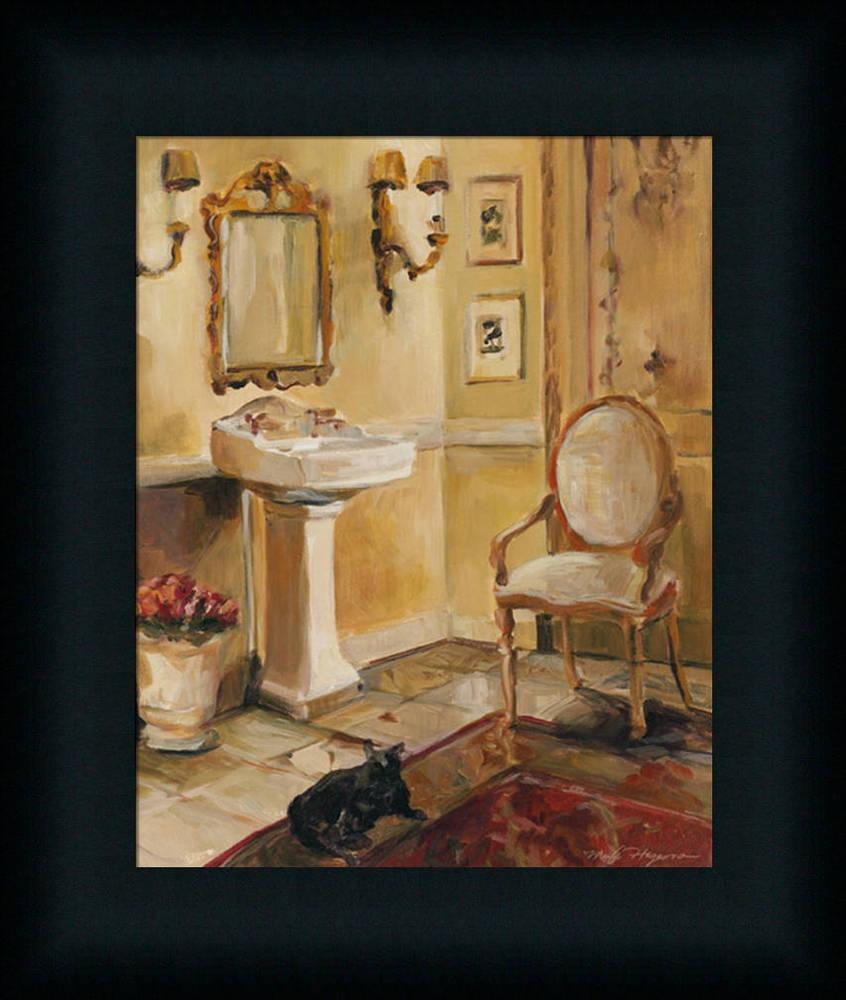 spa bathroom artwork photo - 4