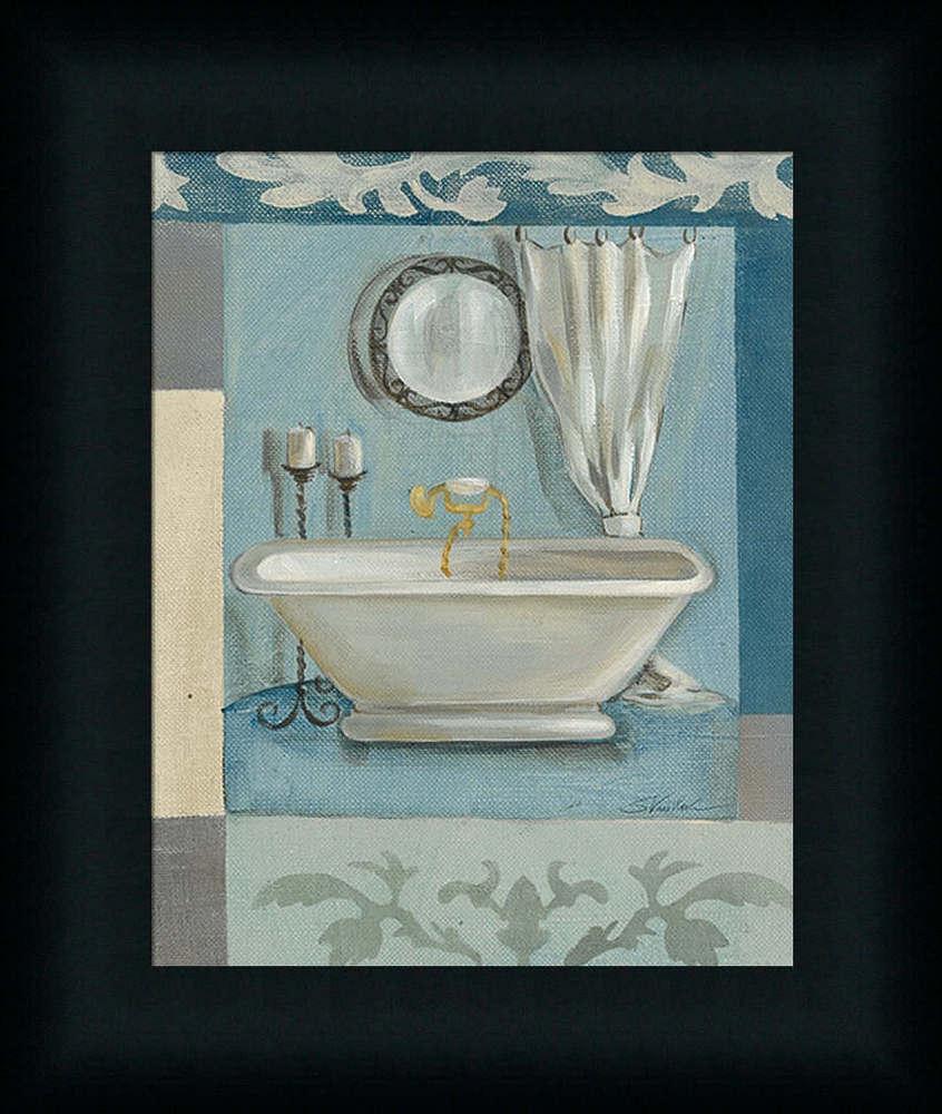 spa bathroom artwork photo - 5