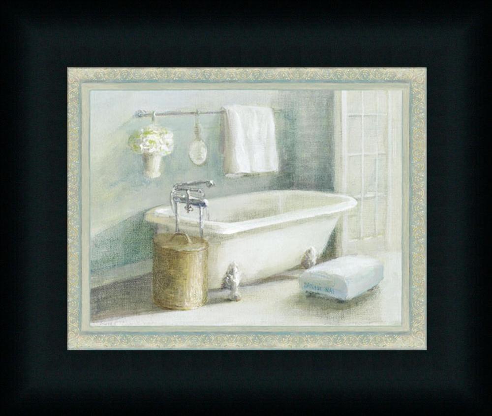 spa bathroom artwork photo - 7