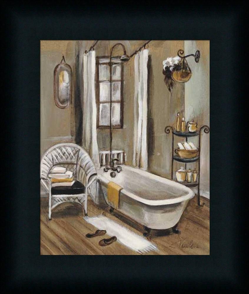 spa bathroom artwork photo - 9