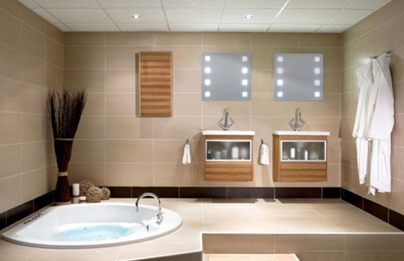spa bathroom at home photo - 2