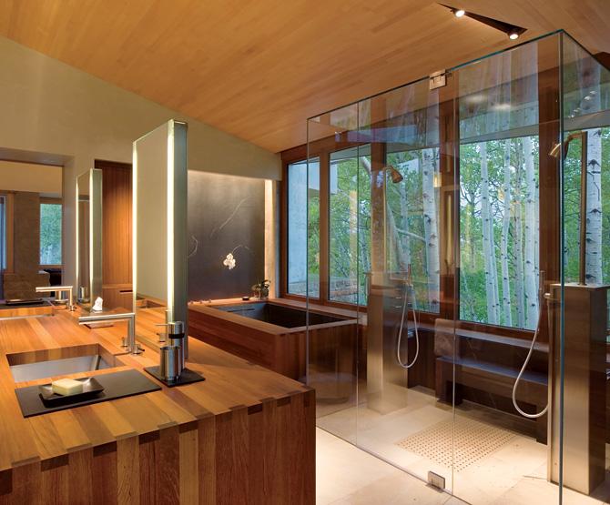 spa bathroom at home photo - 4