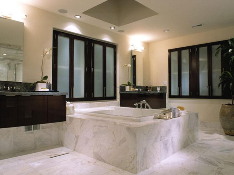 spa bathroom at home photo - 8
