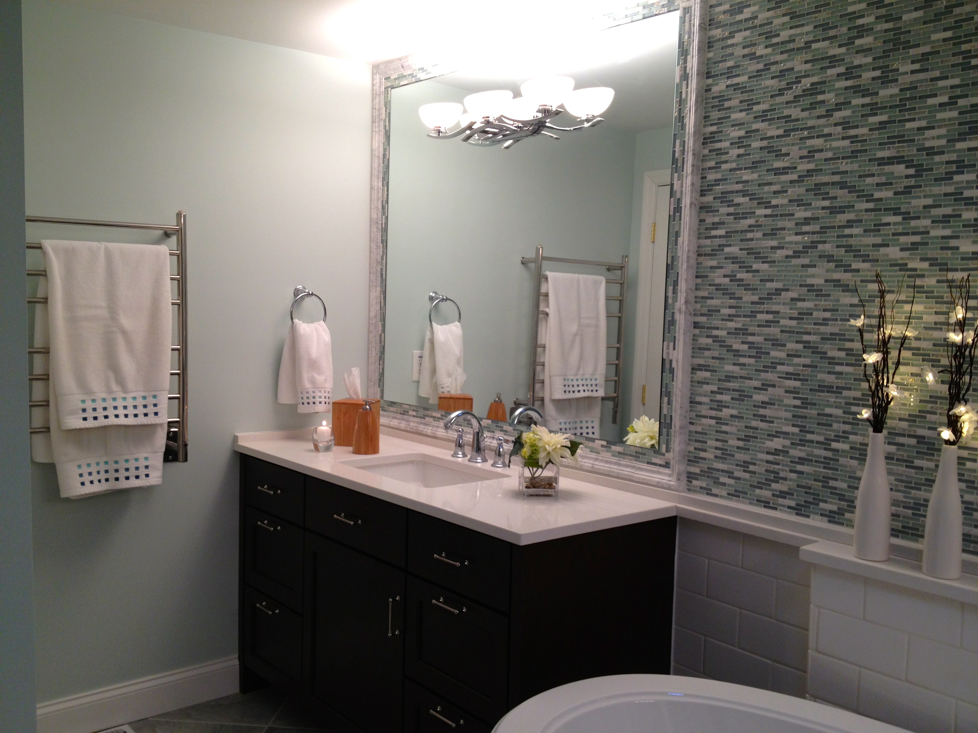 spa bathroom color schemes photo - 1