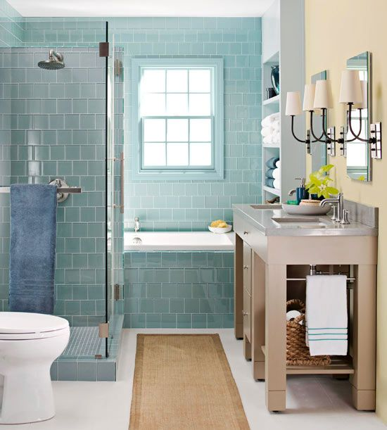 spa bathroom color schemes photo - 7
