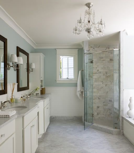 spa bathroom color schemes photo - 8