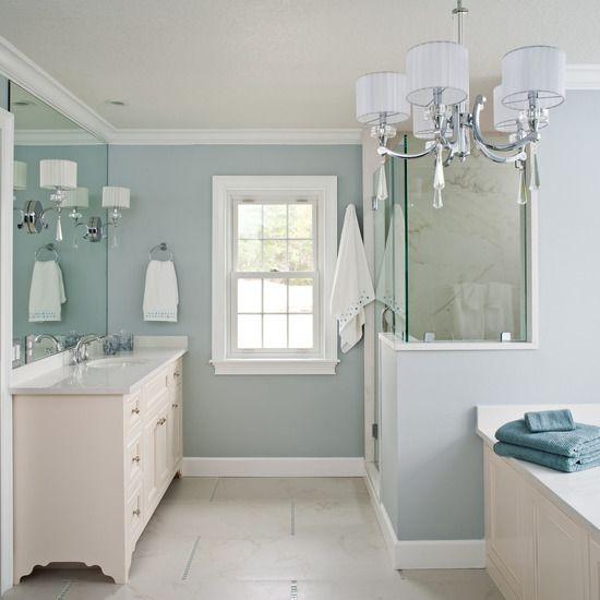 spa bathroom colors photo - 5